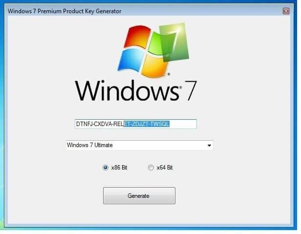 Windows 7 Premium Product key 32/64bit 100% Working