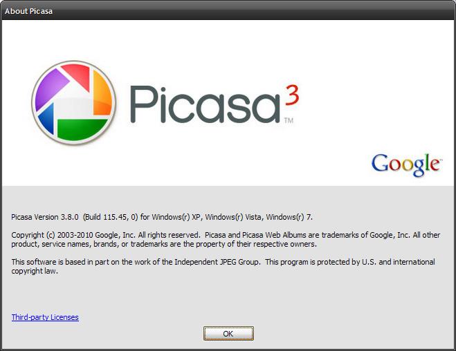Picasa 3.9 Free Full Setup + Latest Version