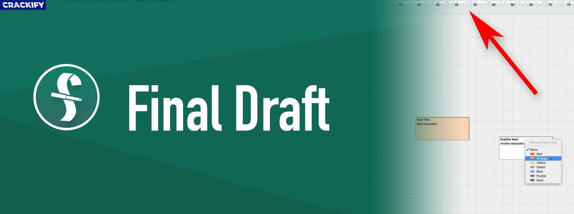Final Draft crack + Latest Version Download